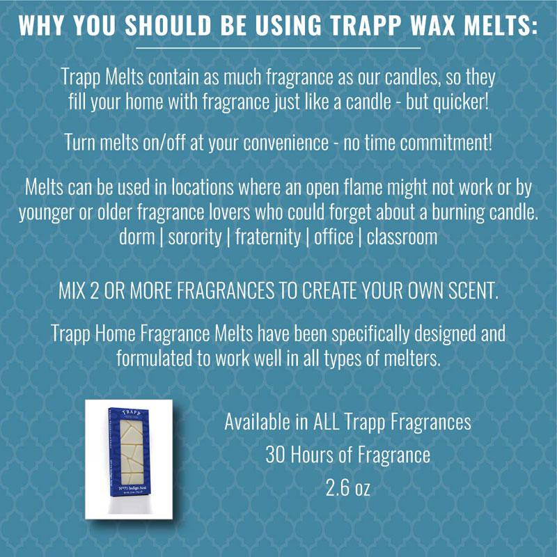 Why Trapp Wax Melts